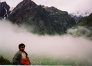 On way to Badrinath in Himalaya
